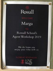 Workshop Rossall Colegio Inglaterra