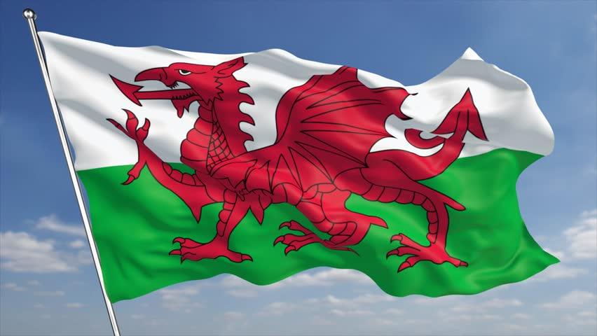 Bandera de Gales 2